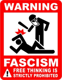 Fascism critical thinking prophibited