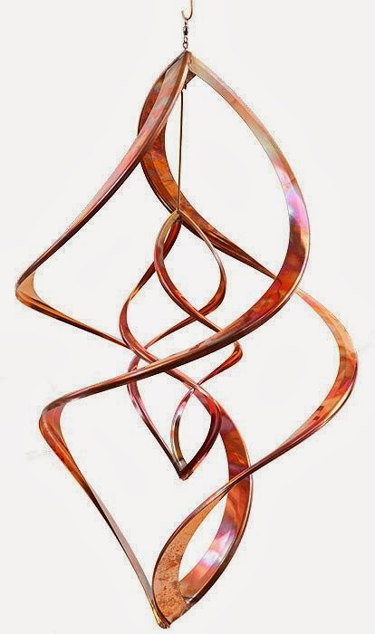 Enter the Double Infinity Copper Wind Spinner Giveaway. Ends 3/20.