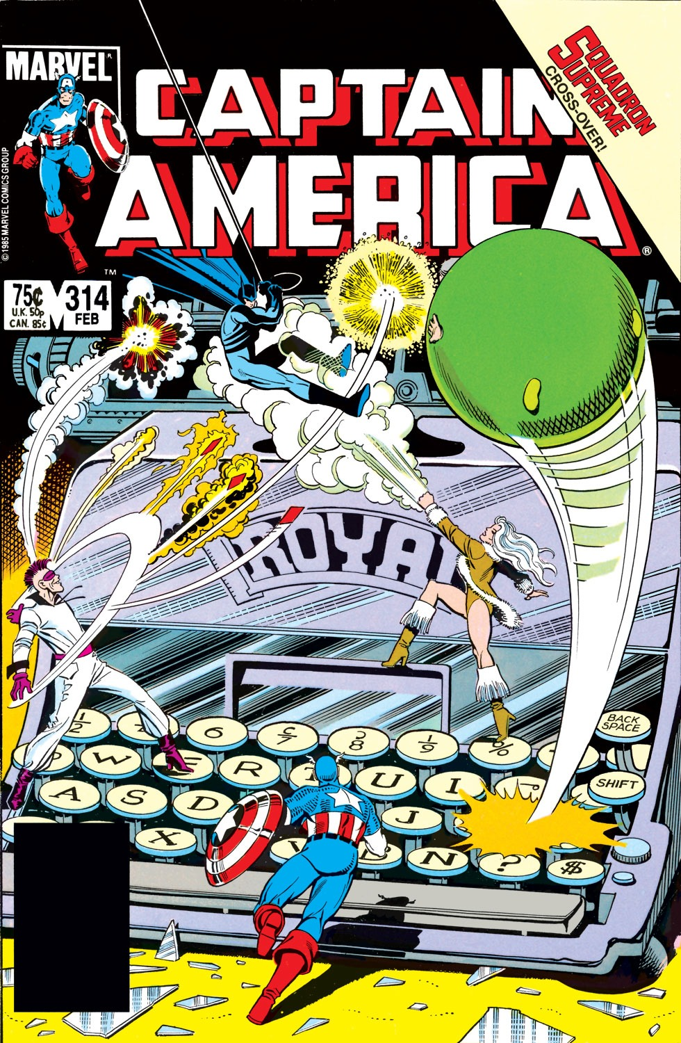 Captain America (1968) Issue #314 #242 - English 1