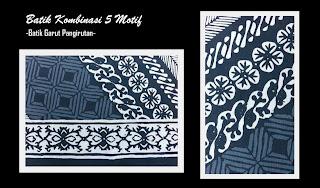 Model Batik Kombinasi