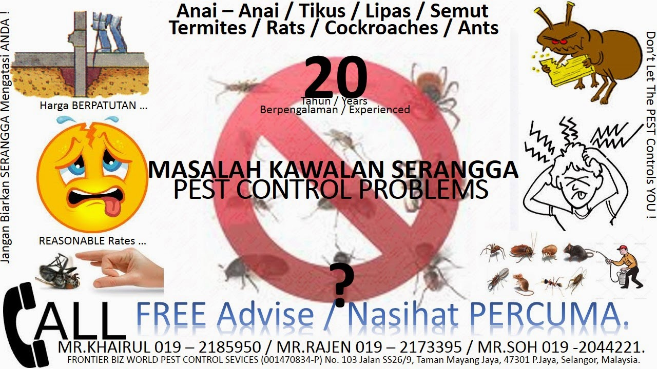 PEST CONTROL SERVICES MALAYSIA :