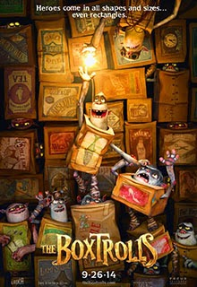 The Boxtrolls Movie Poster 2014