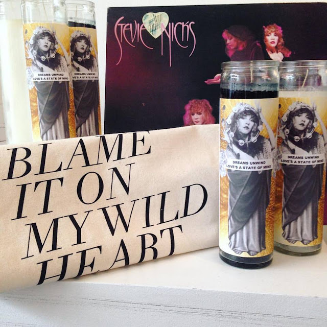Stevie Nicks Prayer Candle