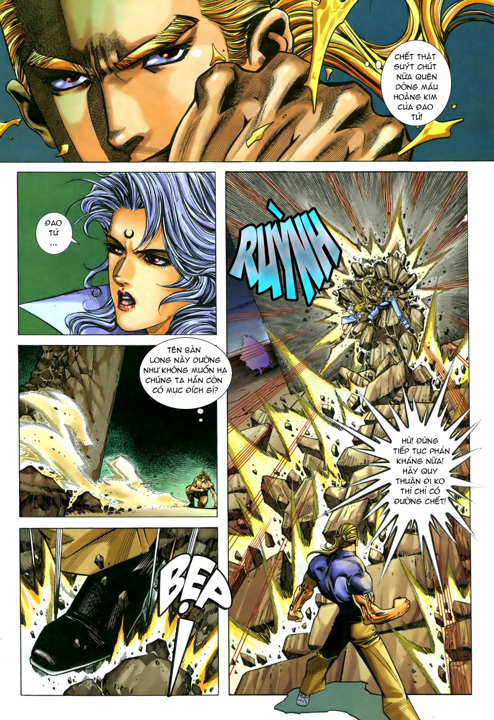 X Bạo Tộc chap 33 - Trang 13