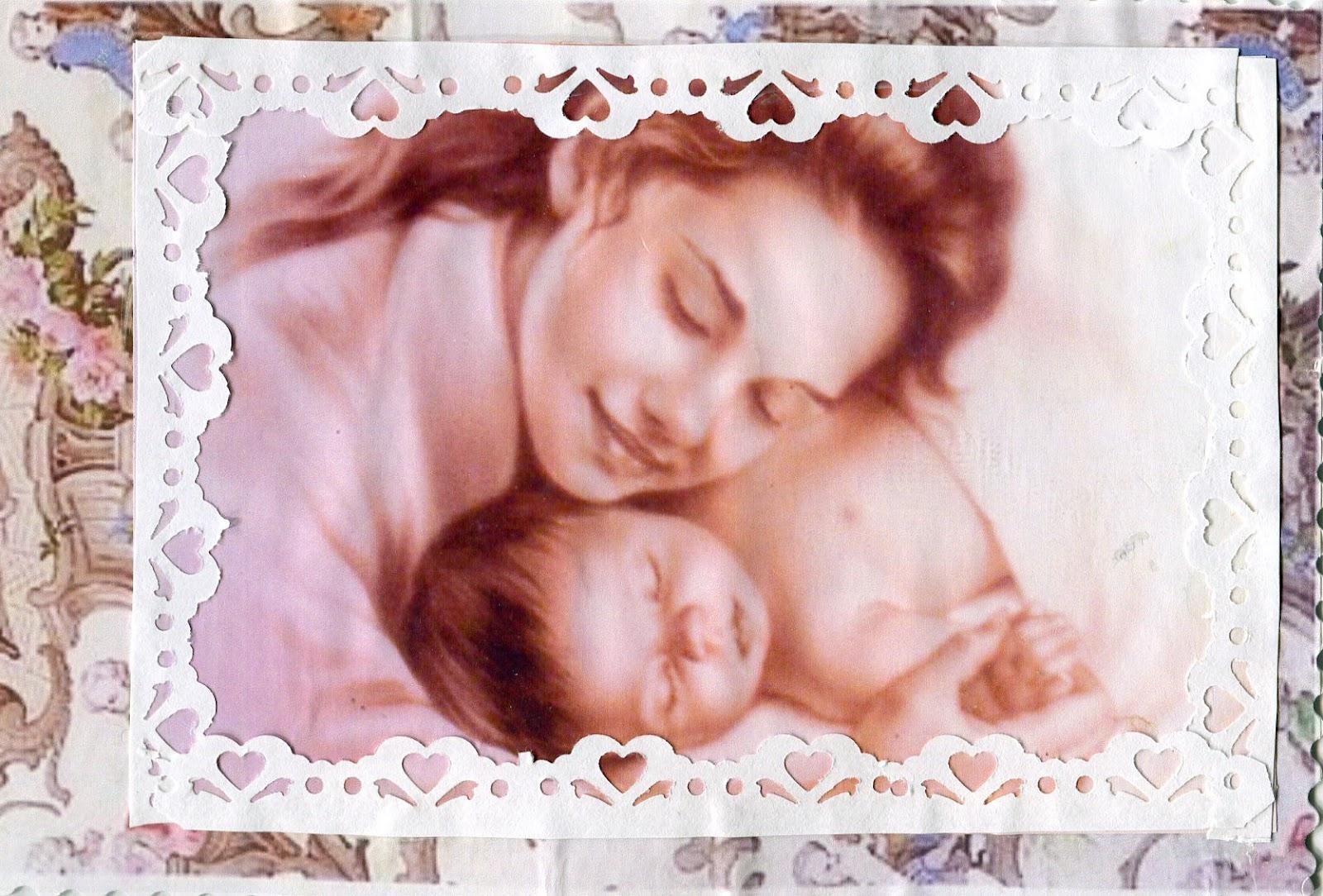 Молодой мамочке открытка 90