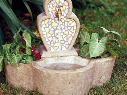 Naturaleza viva - Fuentes solares para jardin ...