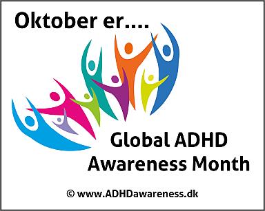Så er dette års ADHD Awareness kampagne blevet skudt i gang!