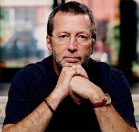 Eric Clapton podpiera brodę