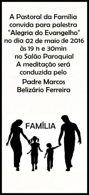 PASTORAL DA FAMÍLIA