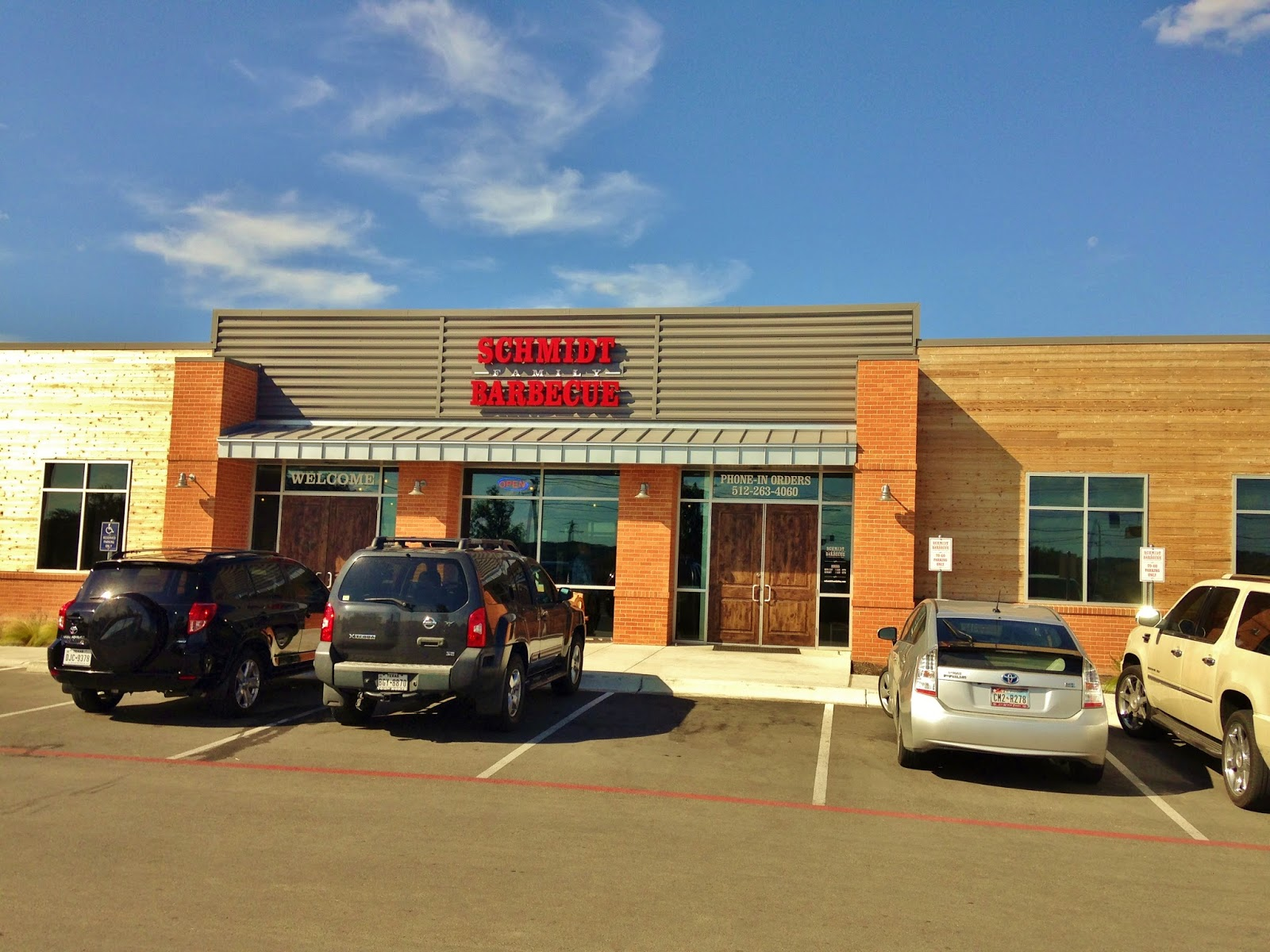 Schmidt Barbecue sits in a brand new building