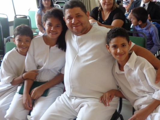 Baptism of Pedro Henrique Family