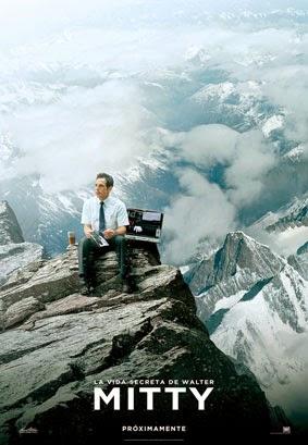 Portada película Walter Mitty Ben Stiller Montaña Himalaya oficinista