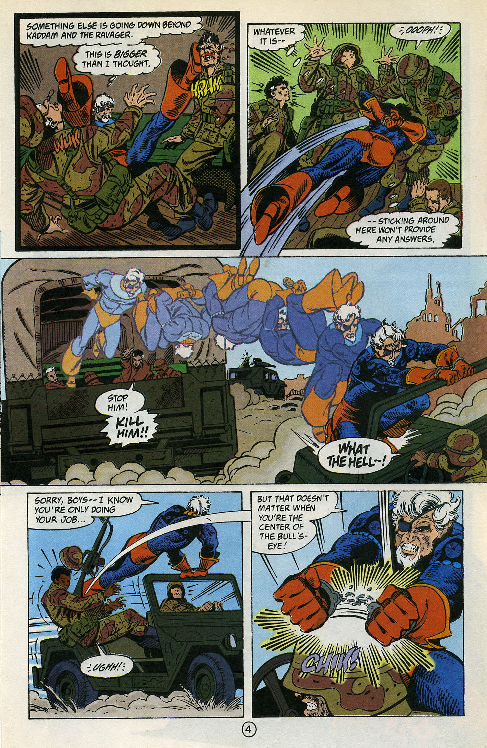 Deathstroke (1991) Issue #4 #9 - English 6