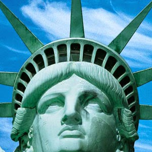liberty head statue