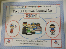 """Fact and Opinion"" Journal Jot"