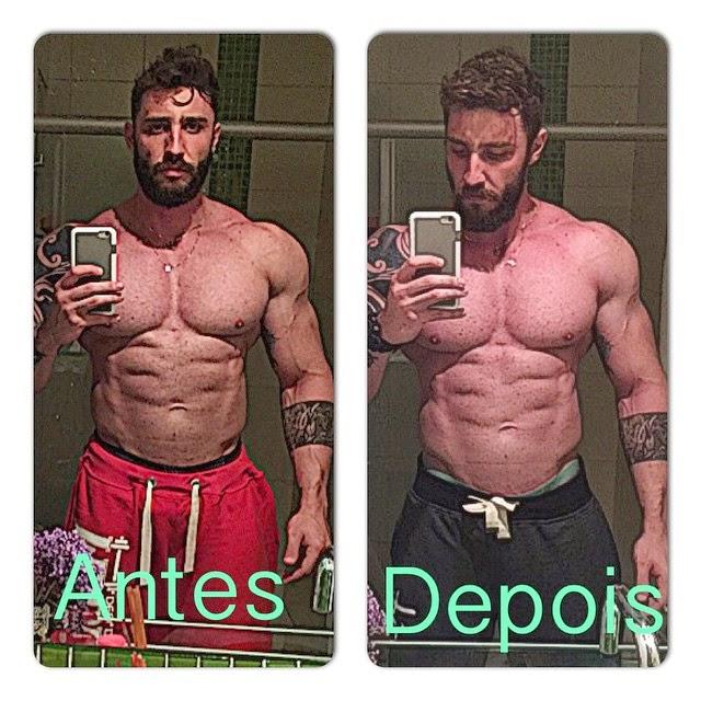 Rafael Mazzali perdeu 8,5 kg após contrair dengue. Foto: Arquivo pessoal