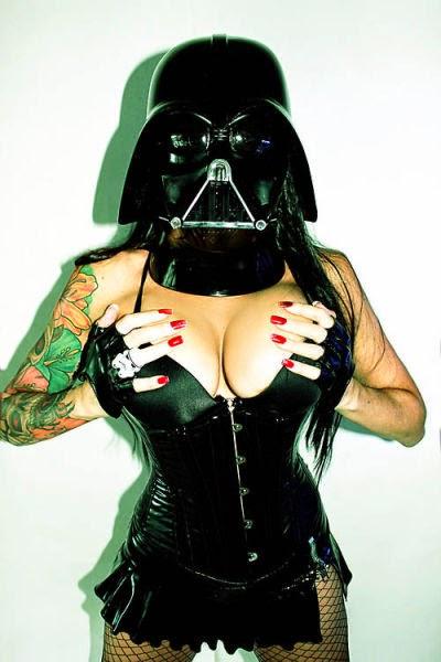 Garotas fãs de Star Wars
