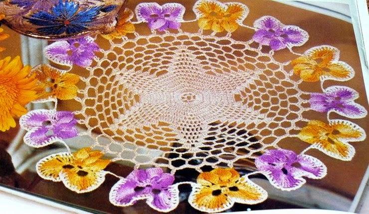 Centro de mesa crochet