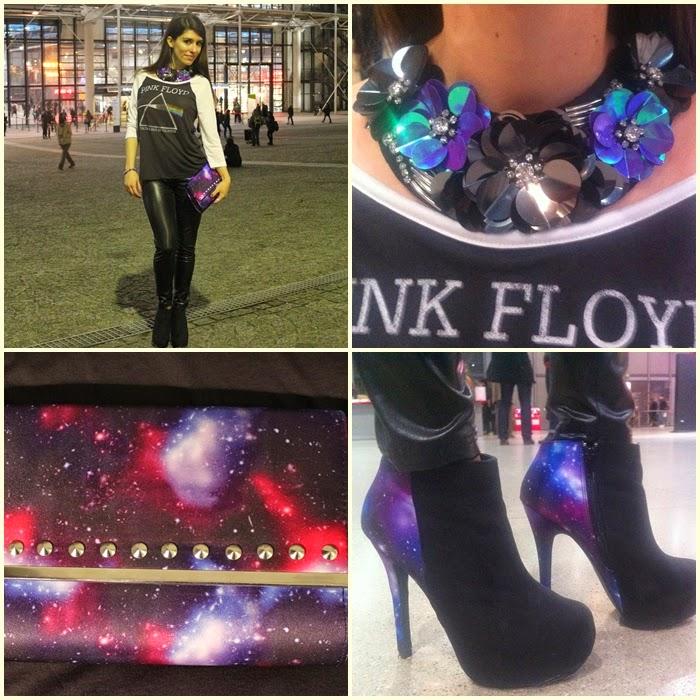 fashion, fashion blog, fashion blogger, Paris, streetstyle, centre Pompidou, futuristic look, universe