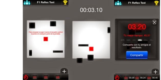 F1 Reflex Test gratis para Android