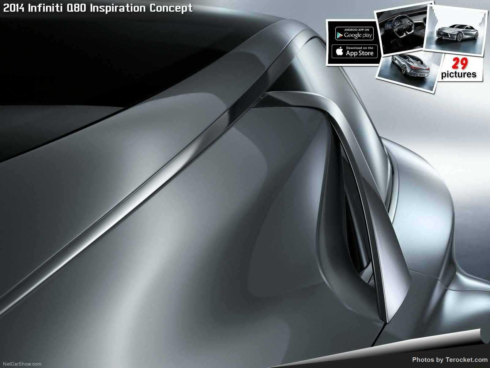 Hình ảnh xe ô tô Infiniti Q80 Inspiration Concept 2014 & nội ngoại thất