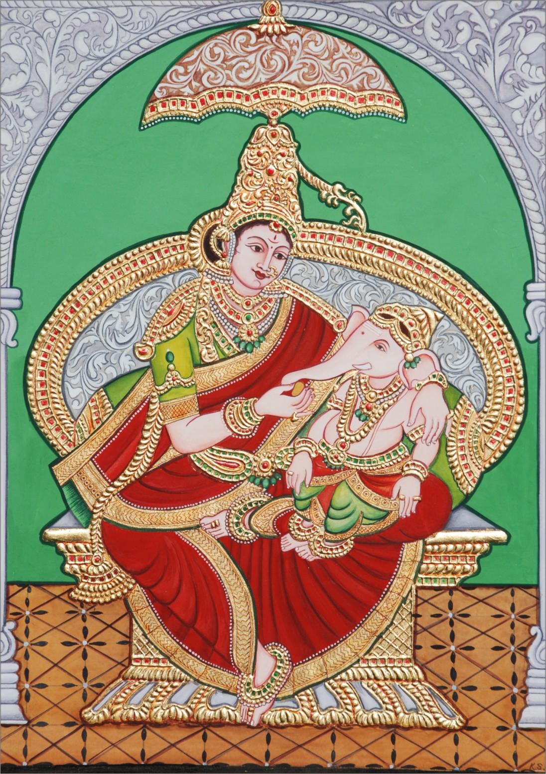 painting style rajasthani painting madhubani painting mysore coterie