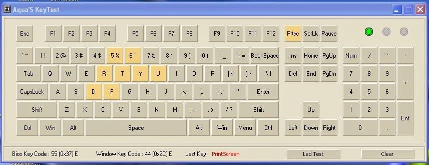 Cara Cek Tombol Keyboard Laptop yang rusak