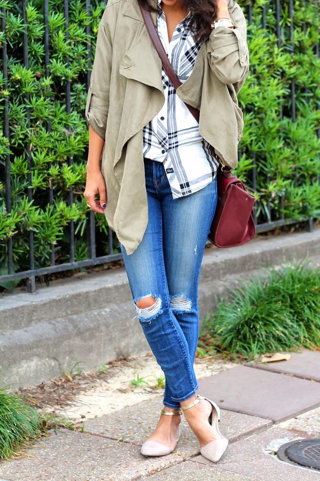 travel style, new orleans, fall fashion, rails, j brand denim, azalea sf, garden district