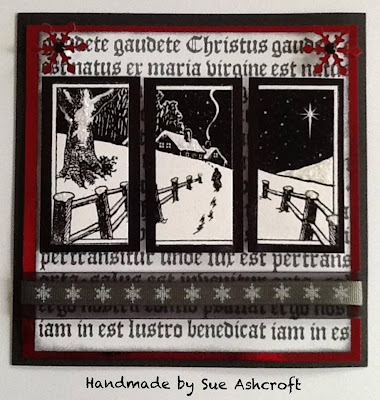 visible image stamps - christmas stamps