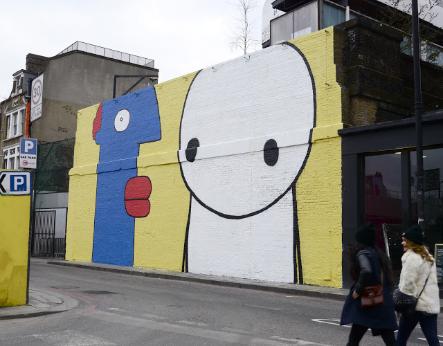 Stik X Thierry Noir On The Streets Of London
