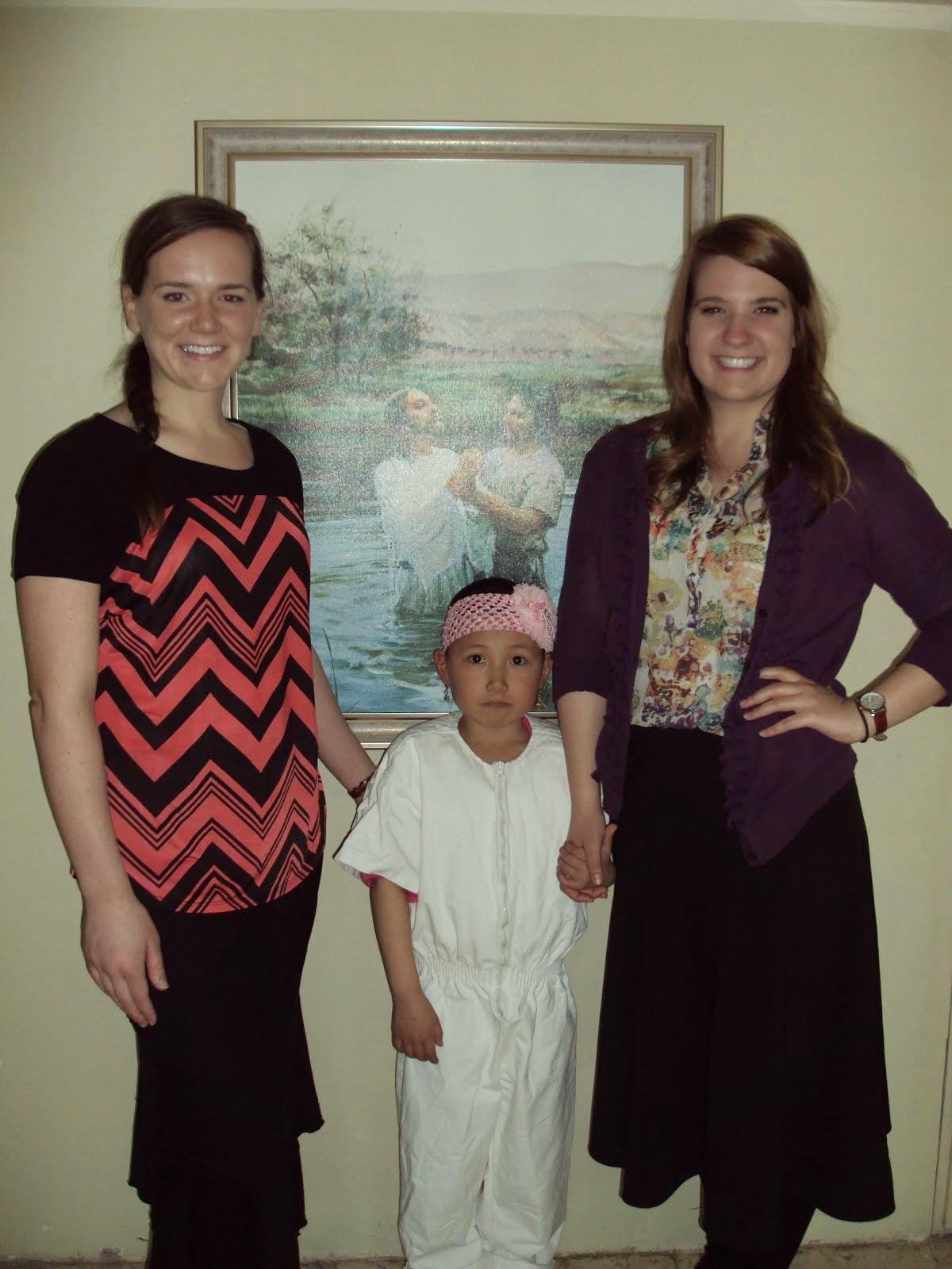 Anujin Baptism