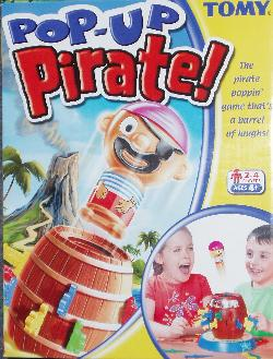 Pop-Up Pirate! box.
