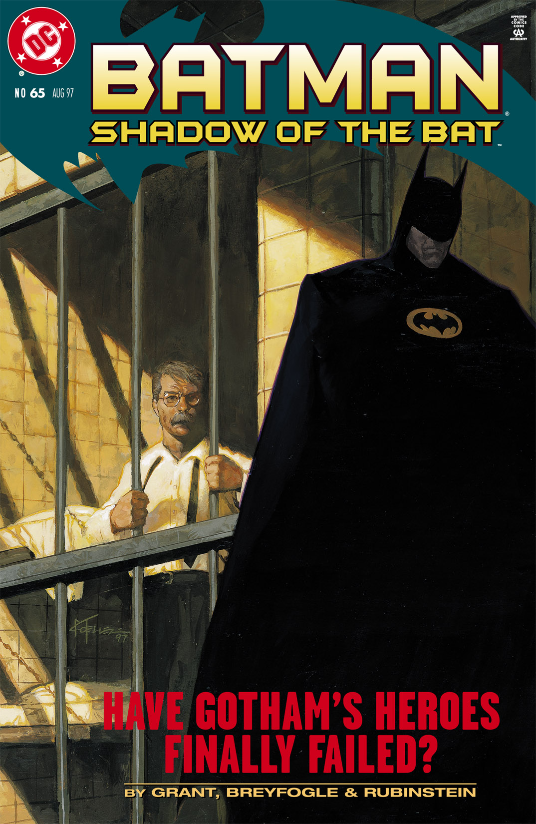 Batman: Shadow of the Bat 65 Page 1