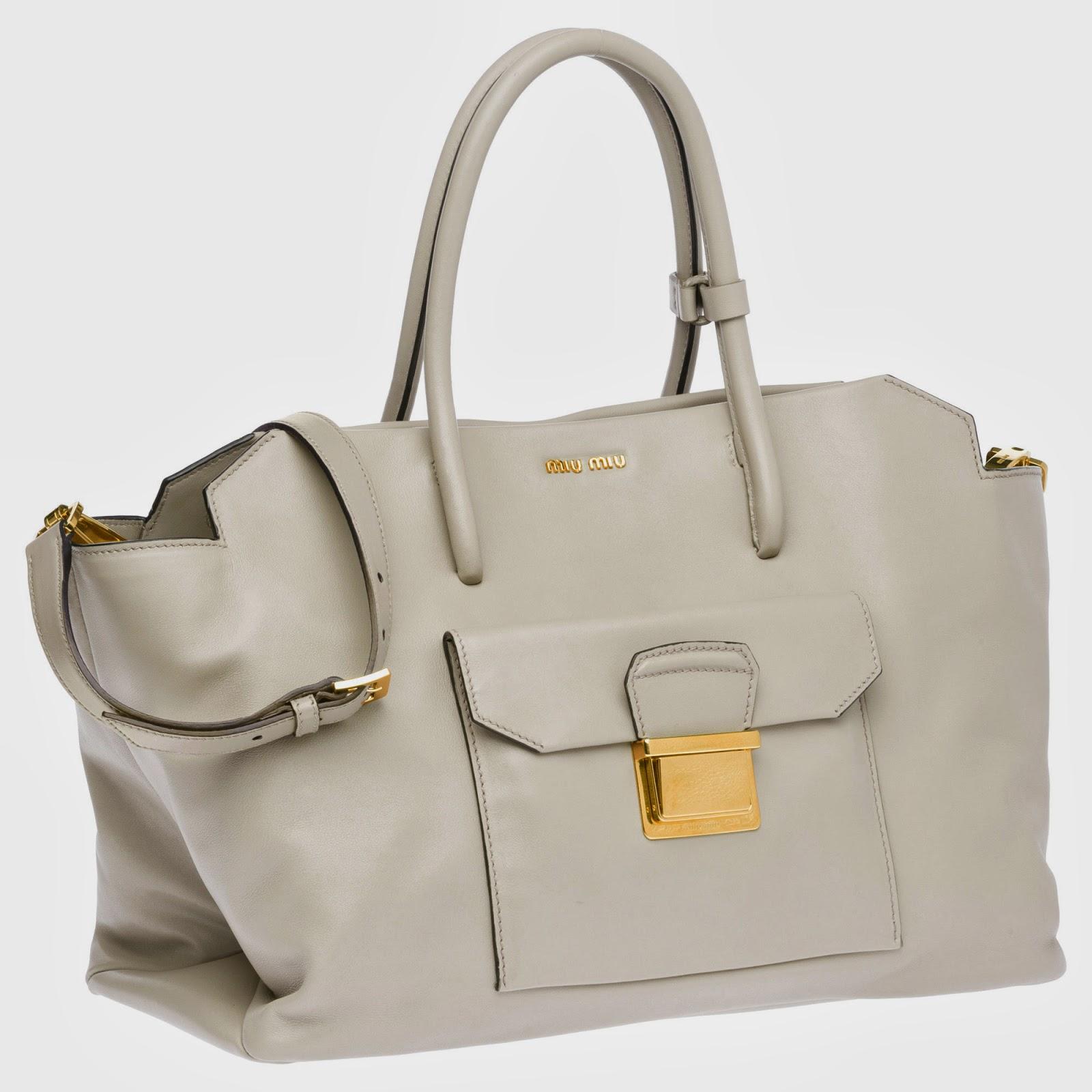 beyaz+tote+%25C3%25A7antalar Miu Miu Herbst Winter 2014 Handtaschen Modelle