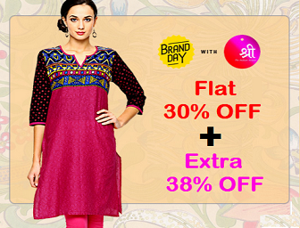 Myntra : Buy Shree Kurti & Leggings Starting at Rs. 209