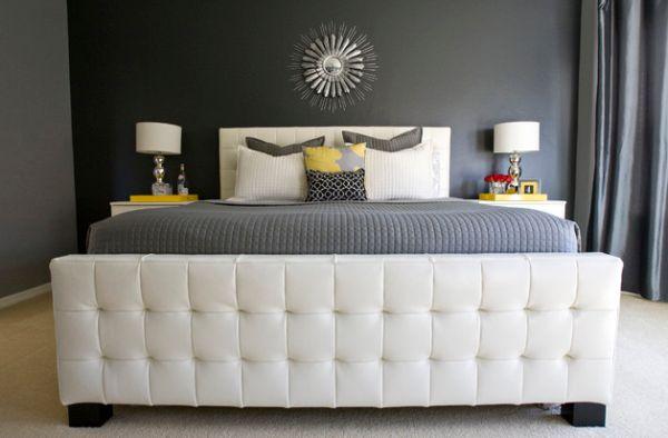 Dormitorios con paredes grises dormitorios con estilo for Habitaciones pintadas en gris azulado