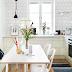 | Scandinavian vintage kitchen