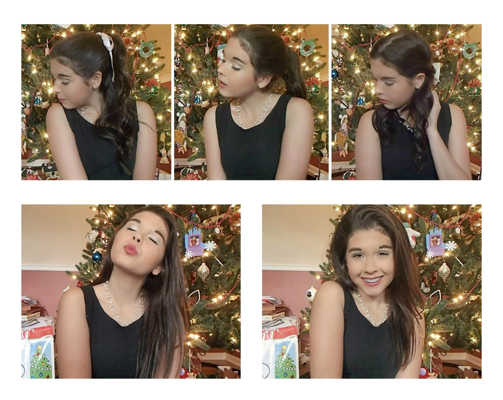 Beautyybychloe Holiday Party Hairstyles Makeup