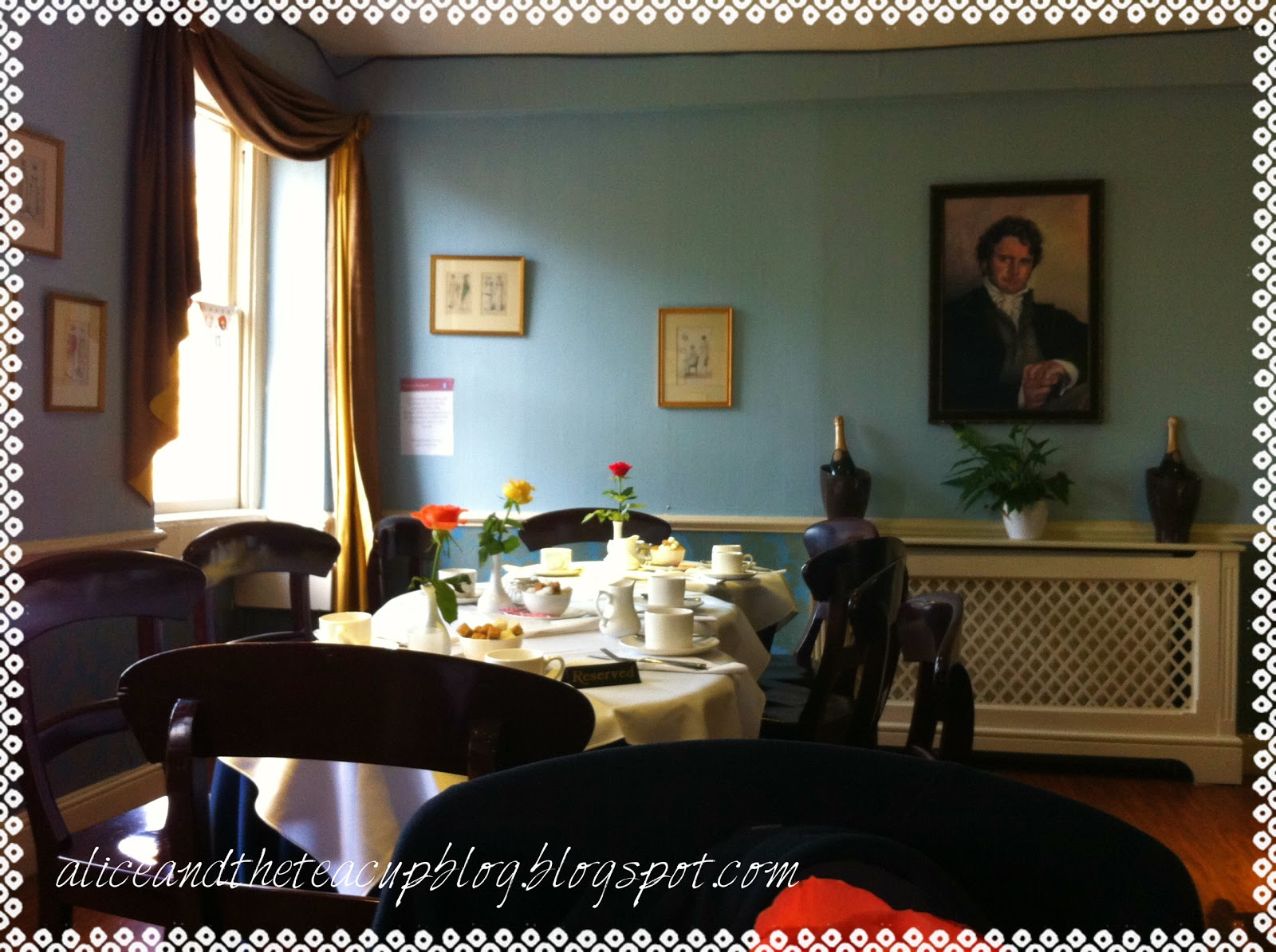 Alice and the Teacup: Regency Tea Rooms, Bath: A Tea Place Review