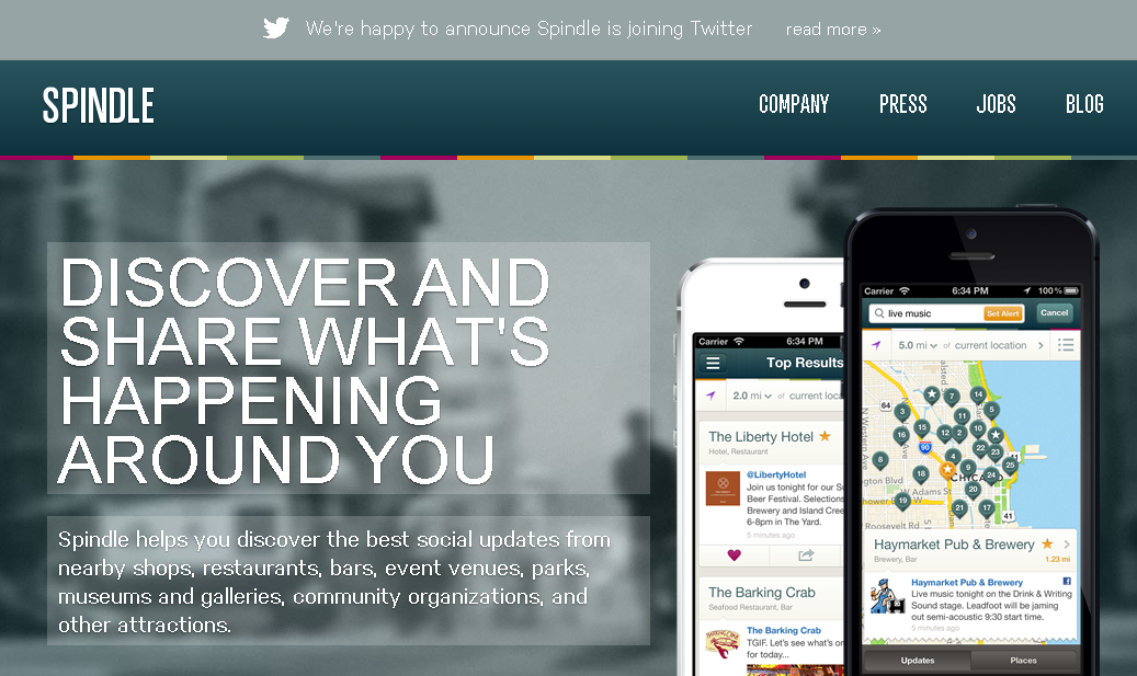 Spindle Twitter News