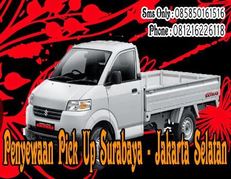 Penyewaan Pick Up Surabaya - JakSel