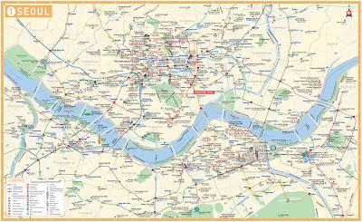 Seoul map English
