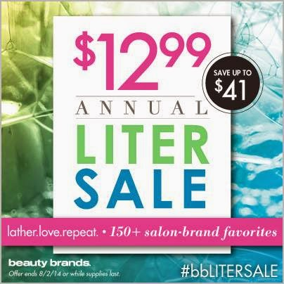 Beauty Brands Liter Sale
