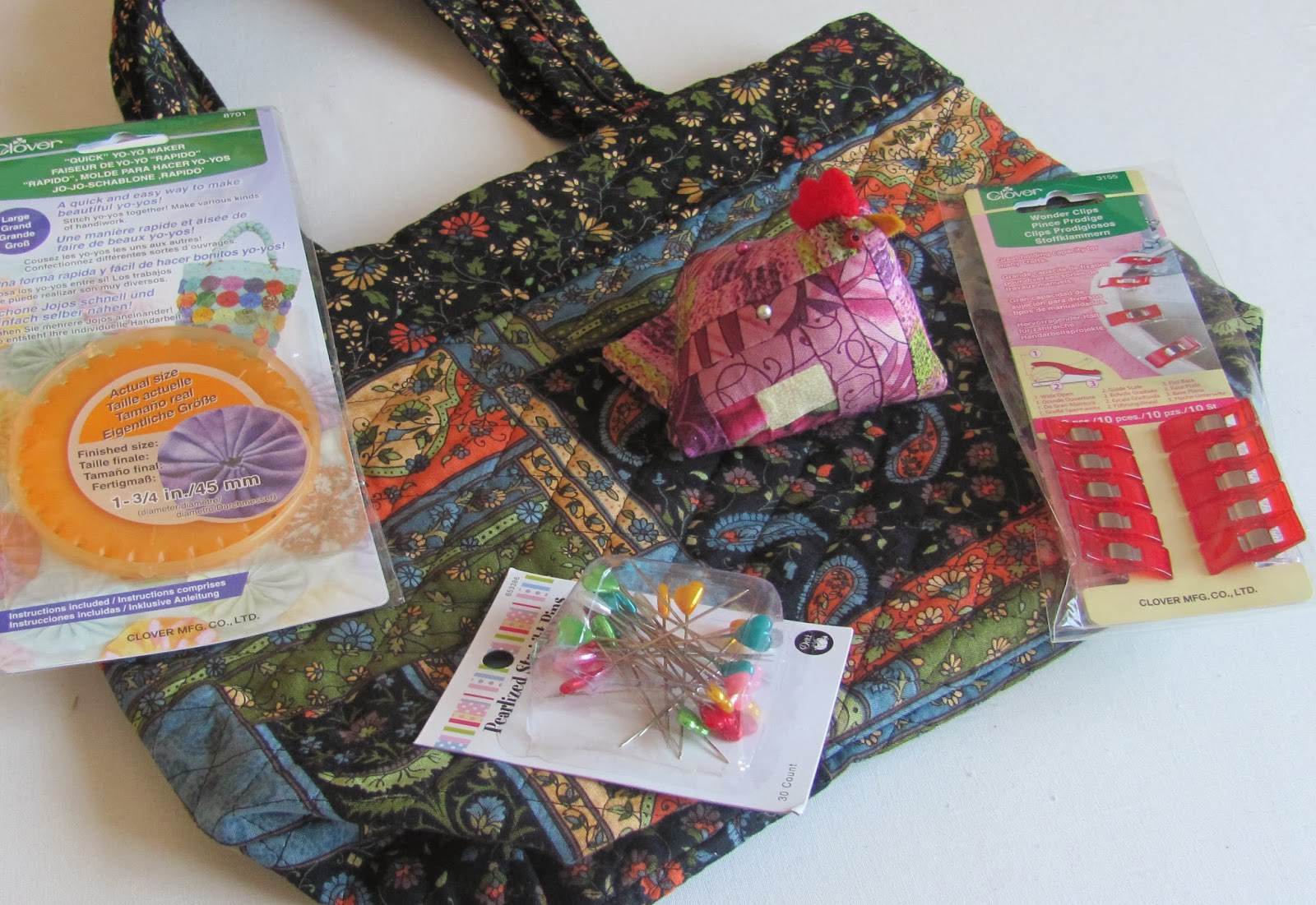 Bag Pincushion And Sew Notions