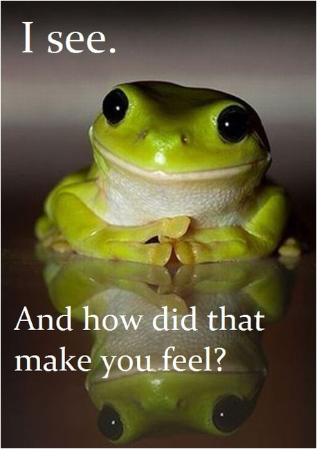 Therapy Frog - I See And How Did That Make You Feel?