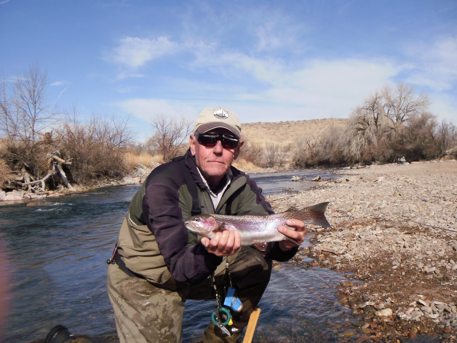 Arkansas river tailwater fly fishing report for Fly fishing arkansas