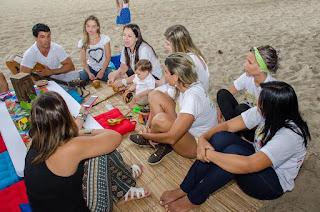 1º Luau Lúdico Baby na Praia de Icaraí