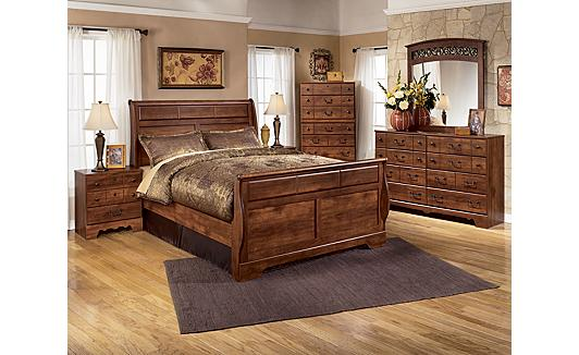 Ashley Furniture Homestore Timberline Sleigh Bedroom Set