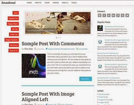 Top 5 Blogger Template for Adsense Approval 2014 image picture