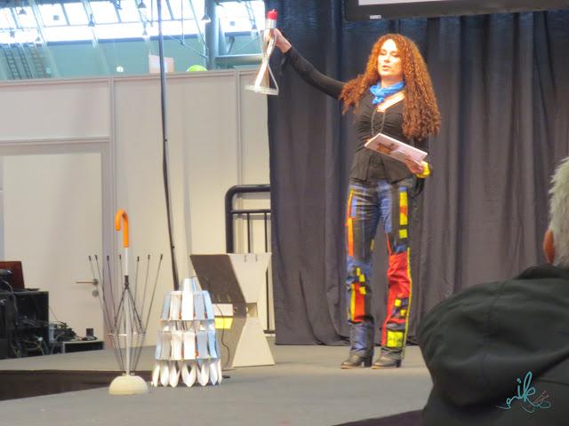 Martina Lammel auf Kreativ Messe Stuttgart 2015